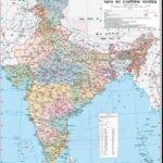 Political Map of India PDF in Hindi
